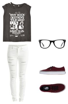 Untitled #212 by abbylexus on Polyvore featuring polyvore, fashion, style, R13, VILA, Vans, Muse, women's clothing, women's fashion, women, female, woman, misses and juniors