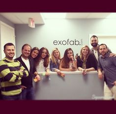 Exofab™ Team in USA.