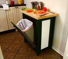 10 способов изящно избавиться от мусора на кухне