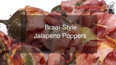 I was chatting to a friend's dad the other day, and somehow the topic of jalapeno poppers came up. Now while I've been doing this delicious little braai snac. Jalapeno Popper Recipes, Jalapeno Poppers, South African Recipes, Ale, Poppers Recipe, Snacks, Crowd, Appetizers, Ales