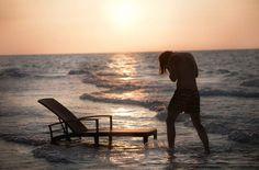 PANAMA Beach chair adjustable by DEDON
