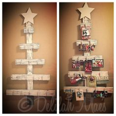 Deb's Doodles n' Things 5' Rustic Christmas Card Tree Facebook Giveaway - Drawing to be held December 15, 2014