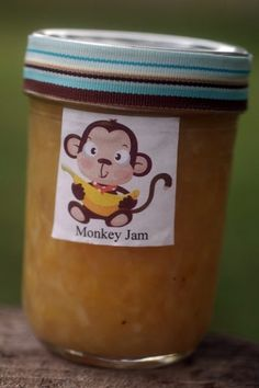 Monkey Jam. I am going to try this. It sounds really good. I've never had a jam with bananas, pineapple, and coconut.