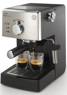 Cafetera espresso de bomba Autentico expreso italiano Filtro a presion para crema