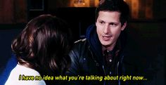 "linettiperetti:   Come on Gina, get on board!  Brooklyn Nine-Nine, 3x18: ""The Apartment"""