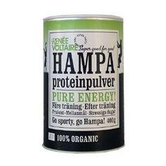 Renée Voltaire Hamp Proteinpulver Ø (400 gr). set hos helsebixen.dk
