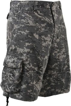 Subdued Urban Digital Camouflage Vintage Military Infantry Utility Shorts | 2770 | $35.99