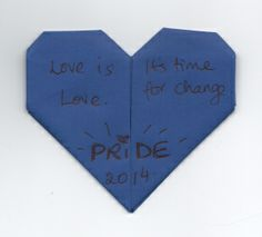 Heart # 751 - an artistic work supporting marriage equality.