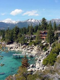 Incline Village, North Lake Tahoe, can't wait for next weekend! Amazing Places On Earth, Beautiful Places, Beautiful Scenery, Dream Vacations, Vacation Spots, Vacation Ideas, Lac Tahoe, Places To Travel, Places To Visit