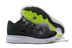 ca249f20846 New Release Nike Kyrie Flytrap Black White-Volt Aa7071-001