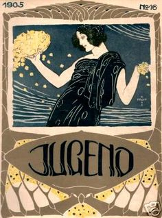 Jugend magazine cover, 1905