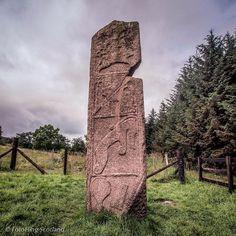 fotoflingscotland:  The Maiden Stone - 9th Century Pictish standing stone @welovehistory (at Chapel Of Garioch, Aberdeenshire, United Kingdom)