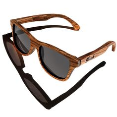 Wood Glasses with my wooden watch...
