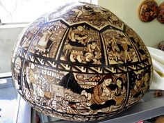 Cultura e Historia de Perú: El Milenario Mate Burilado Peruano