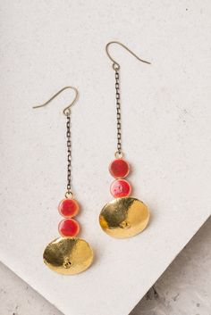 Randi; Ceramic and Copper Earrings, $32.99 Buy fair trade and help restore hope for exploited women in Asia