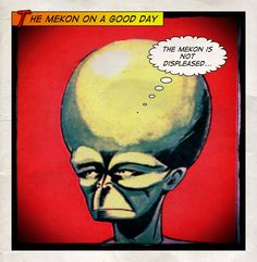 The Mekon is not displeased...