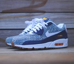 Liberty London x Nike WMNS Air Max 90 – Blue Recall
