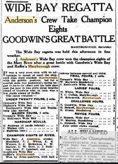1929 Wide Bay Regatta