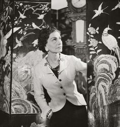 Coco Chanel, The Queen Of Paris.❤