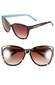 Elie Tahari 58mm Cat Eye Sunglasses   Nordstrom