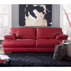 Natuzzi Editions B-504 Leather Sofa