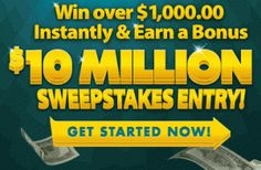PCH Win 10 Million Dollars Sweepstakes