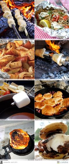 EASY Camping Recipes Josh would love these!