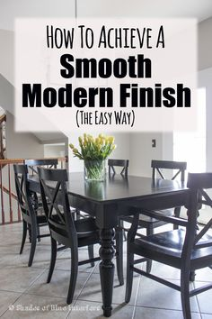 How to Achieve a Smooth, Modern Finish + A HomeRight Giveaway!