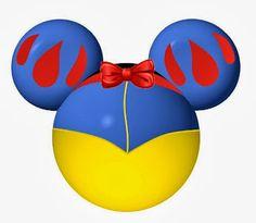 Disney Princess and Mickey Heads