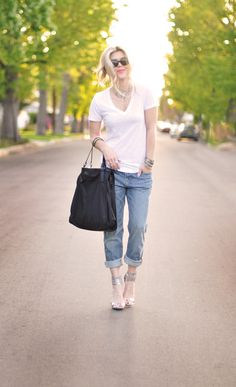 Jeans & a White T Outfit No. 16 ~ The Morning After