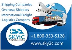 Overseas Shipping Services and International Freight Services by Sky2c Freight Systems Inc.