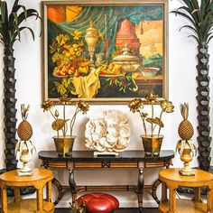 Over 40 years ago, husband and wife Rick and Holly Henemader found a single antique piece that changed their lives and their careers. They founded @fshenemaderantiques in Ontario in 1970, and later opened in Palm Beach, bringing Canadian folk art south. #MakerMonday #instaluxe  #LuxePB Sept/Oct Photo: @sonya_revell  Click the link in our bio to head to our homepage and read more about @fshenemaderantiques!  #Regram via @luxemagazine