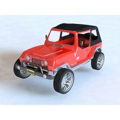 Jeep  rhinoceros 3dm