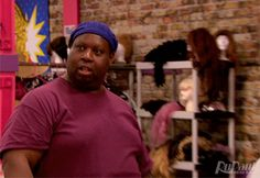 New party member! Tags: rupauls drag race rupaul shocked wut zoom huh rpdr latrice royale rupaul's drag race latrice