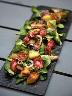 Salade de gésiers gourmande : Recette de Salade de gésiers gourmande - Marmiton
