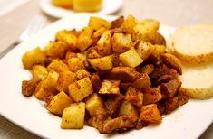A tökéletes brassói aprópecsenye   femina.hu Sweet Potato, Potatoes, Vegetables, Food, Potato, Essen, Vegetable Recipes, Meals, Yemek