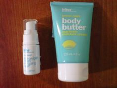 Bliss Body Butter Maximum Moisture Cream-4.2 Oz and Bliss Triple Oxygen Instant Energizing Mask-.34 Oz by Bliss. $44.95. Bliss Body butter maximum moisture cream-4.2 oz.. Bliss triple oxygen instant energizing mask-.34 oz.. Bliss lemon and sage body butter maximum moisture cream. Bliss triple oxygen instant energizing mask.