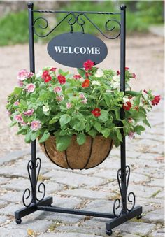 Choose from our extensive range of garden pots, planters, plant stands and raised beds - we have literally hundreds to chooose from and we guarantee to. Outdoor Planters, Garden Planters, Outdoor Gardens, Planter Pots, Square Baskets, Iron Furniture, Flower Stands, House With Porch, Blacksmithing