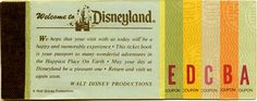 Adventures In The Great Wide Somewhere Fastpass to History ~ Ticket Books