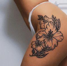 Inspirational Tattoo for Women - chic better - 20 Inspirational Tattoo for . - 20 Inspirational Tattoo for Women – chic better – 20 Inspirational Tattoo for Women – Page 25 Inspirational Tattoo for Women - chic better - 20 Inspirational Tattoo for . Hip Thigh Tattoos, Thigh Tattoo Designs, Dope Tattoos, Dream Tattoos, Body Art Tattoos, Small Tattoos, Tatoos, Thigh Tattoos For Girls, Tattoo For Women On Thigh
