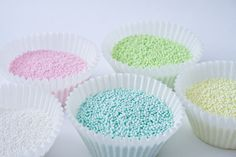 how to make my own colored sprinkles.