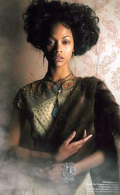 Black Woman!