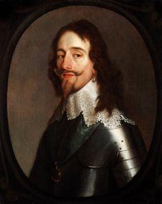 Sir Anthony Van Dyck (1599 - 1641) , King Charles I of England (1600 – 1649)