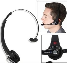 Wireless Headphones with Mic, Bluetooth, and Noise Cancellation Technology For Driving, Home & at the Office