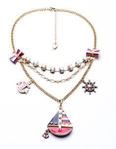 2014 Hot-selling New Fashion Jewelry  Fashion Crystal Shourouk Necklaces Lucite Shourouk Necklace Wholesale Free Shipping $10.58