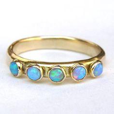 Mini Opal Ring