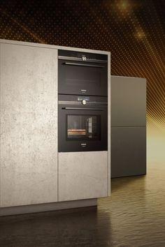 Siemens studioLine – Exklusivität in Perfektion Cuisines Design, Küchen Design, Filing Cabinet, Kitchen Appliances, Storage, Fours, Furniture, Home Decor, Modern Bedroom
