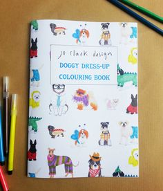 Doggy Dress-Up Coloring Book