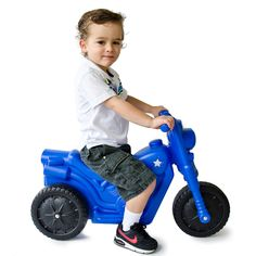 The Piki Piki Bike. Ride-on toy for children ages 18 months to 5 years. Helps improve coordination for toddlers. No pedal, no batteries, no assembly. Proudly made in the USA.