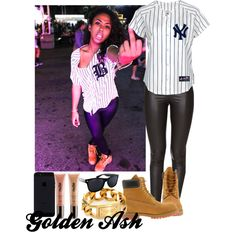 """""""Yankee Tims"""" by fashionsetstyler on Polyvore"""